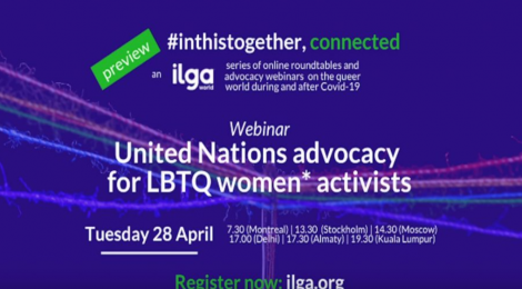 Advocacy at the UN for LBTQ women's rights - An overview from ILGA World